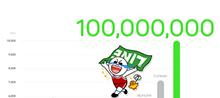 LINE1億人記念プレゼント&キャンペーン